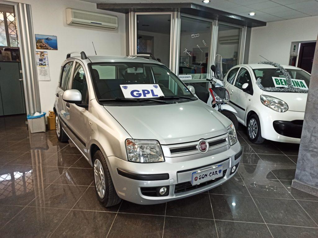 FIAT PANDA 1.2 BENZINA GPL (CASA MADRE)